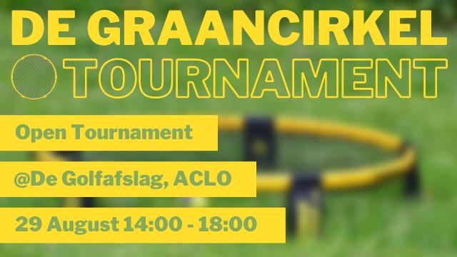 Het eerste open toernooi staat voor de deur!